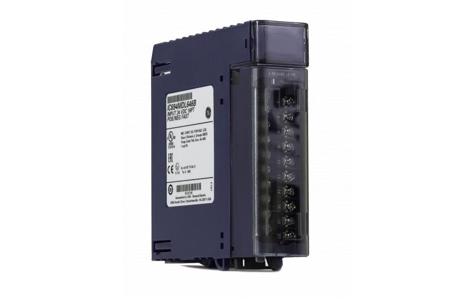 RX3i - 16 wejść cyfrowych (24 VDC; 1ms; logika dodatnia/ujemna) 3