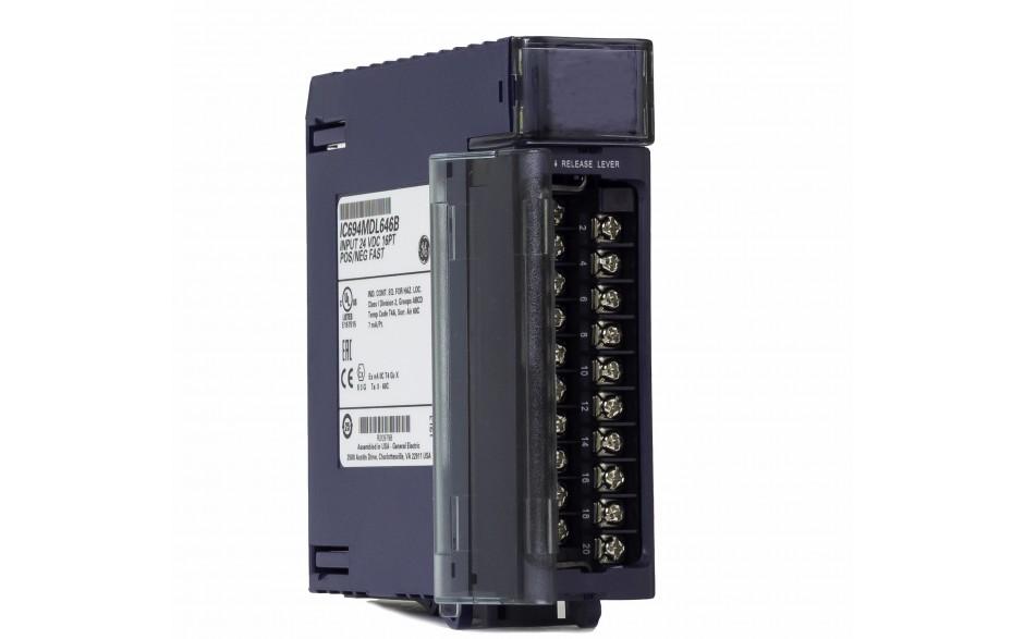 RX3i - 16 wejść cyfrowych (24 VDC; 1ms; logika dodatnia/ujemna)