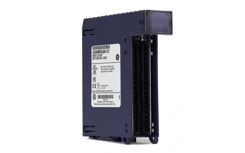 RX3i - 32 wejścia cyfrowe (24 VDC; logika dodatnia/ujemna)