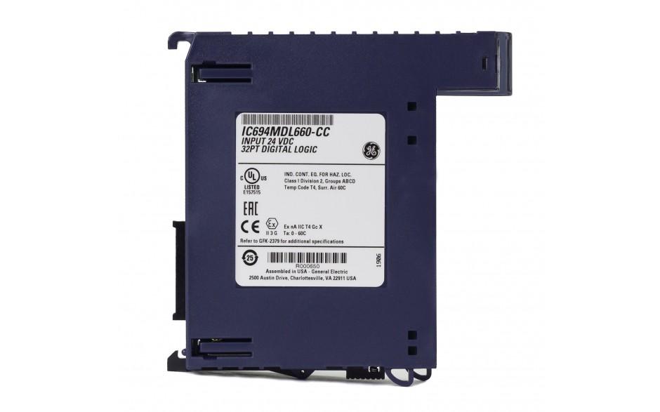 RX3i - 32 wejścia cyfrowe (24 VDC; logika dodatnia/ujemna) 3