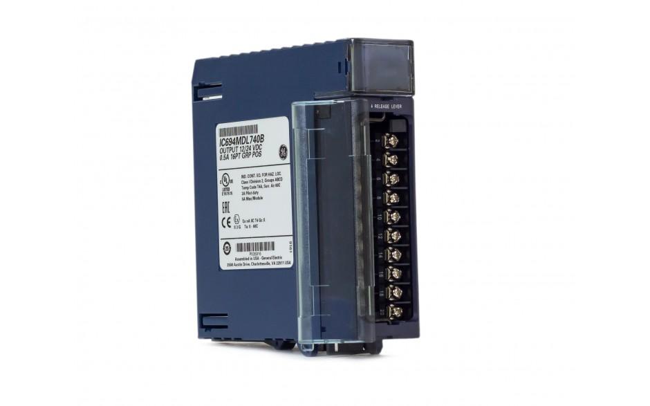 RX3i - 16 wyjść cyfrowych (12/24 VDC; 0.5 A; logika dodatnia) 12