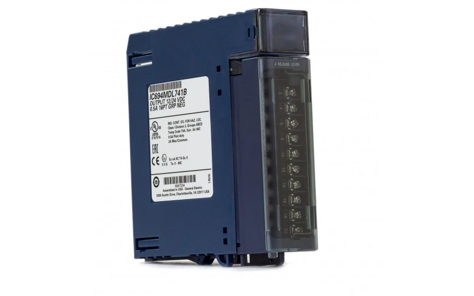 Wyprzedaż - RX3i - 16 wyjść cyfrowych (12/24 VDC; 0.5 A; logika ujemna)