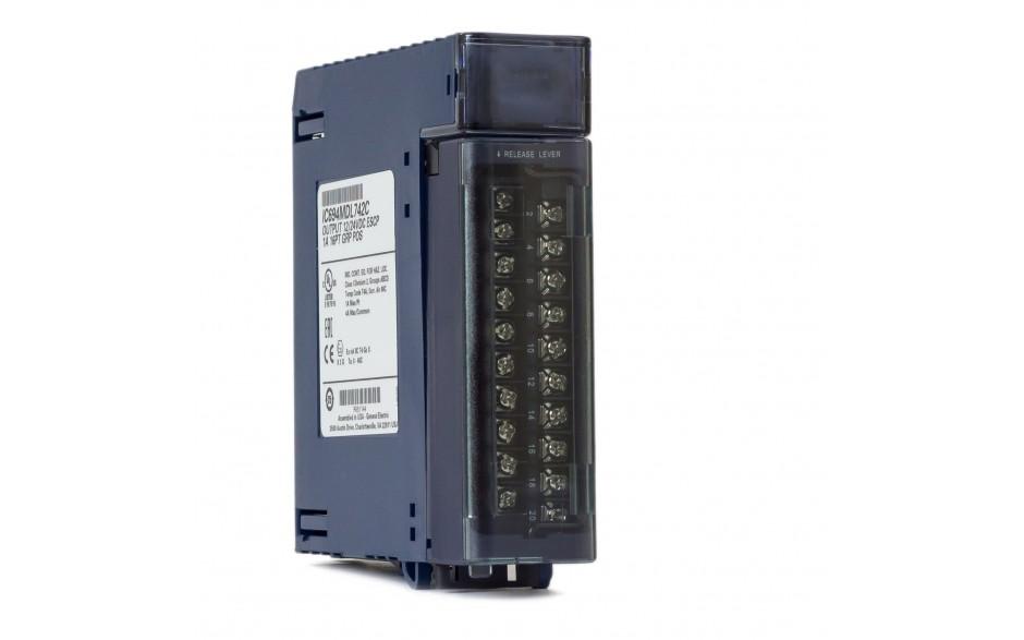 RX3i - 16 wyjść cyfrowych (12/24 VDC; 0.5 A; logika ujemna)