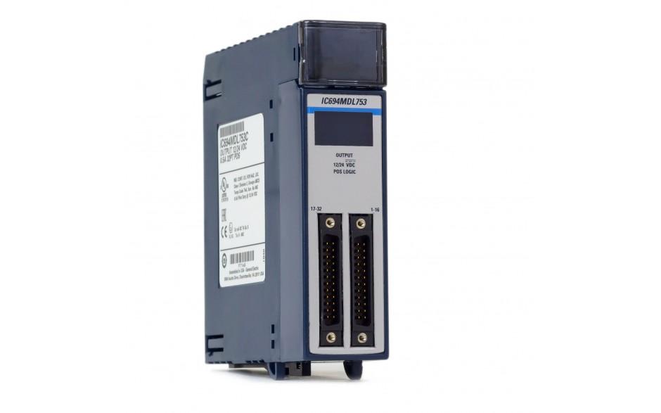 RX3i - 32 wyjścia cyfrowe (12/24 VDC; 0.5 A; logika dodatnia)