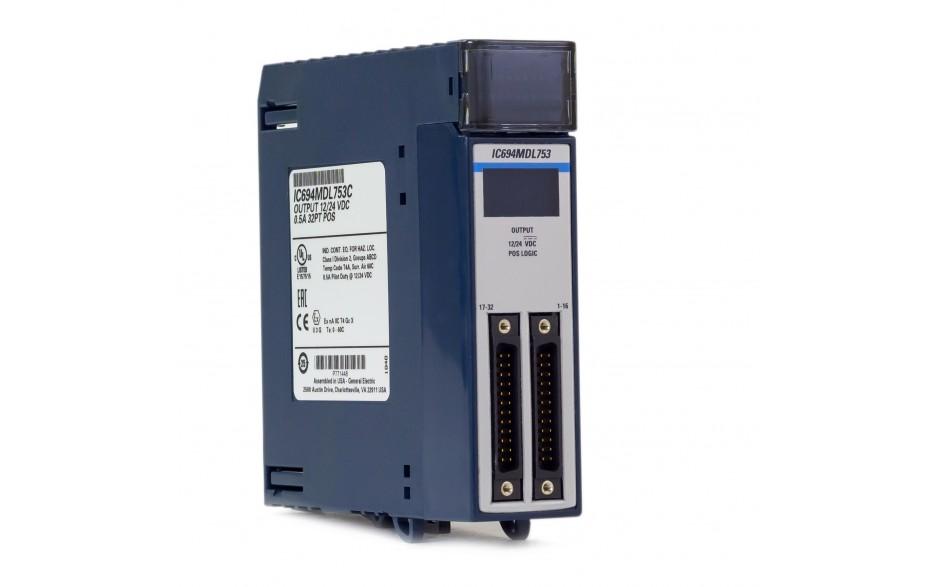 RX3i - 32 wyjścia cyfrowe (12/24 VDC; 0.5 A; logika dodatnia) 8