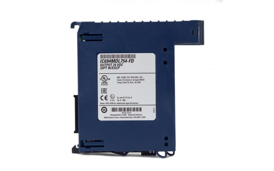 RX3i - 32 wyjścia cyfrowe (12/24 VDC; 0.5 A; logika dodatnia; zabezpieczenie ESCP) 4