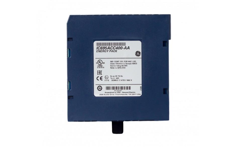 RX3i - Moduł Energy PACK do podtrzymania pamięci w IC695CPE305 oraz IC695CPE310 3