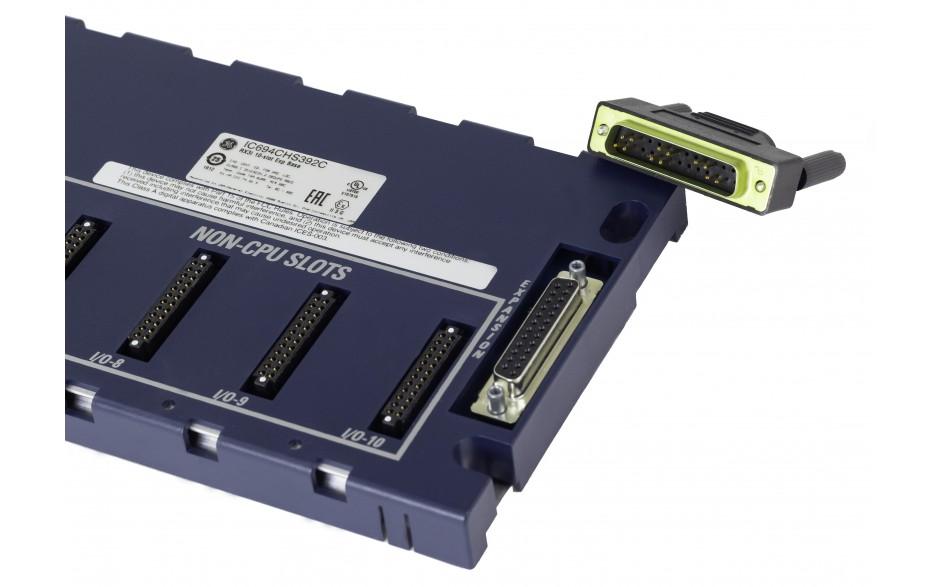 RX3i - Kaseta rozszerzająca dla kontrolera RX3i; 10 gniazd - wymaga w kasecie głównej modułu IC695LRE001