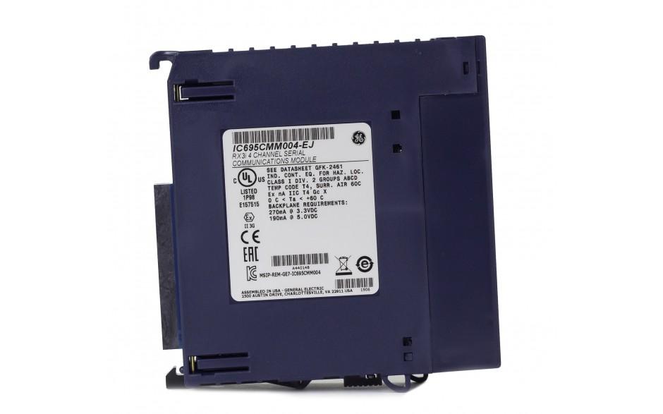 RX3i - Moduł komunikacyjny 4x RS232/422/485; izolowane porty; Modbus RTU Master/Slave; Serial I/O; DNP 3.0 3