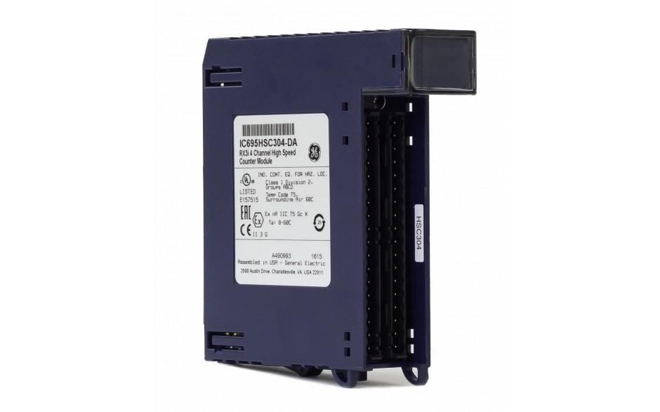 RX3i - 4-kanałowy moduł licznika impulsów wyskokiej częstotliwości (do 1.8 MHz)