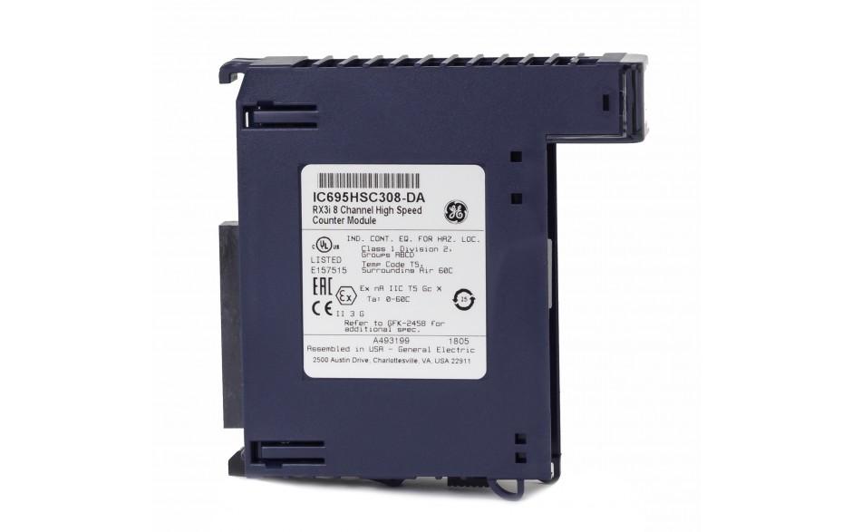 RX3i - 8-kanałowy moduł licznika impulsów wyskokiej częstotliwości (do 1.8 MHz) 3