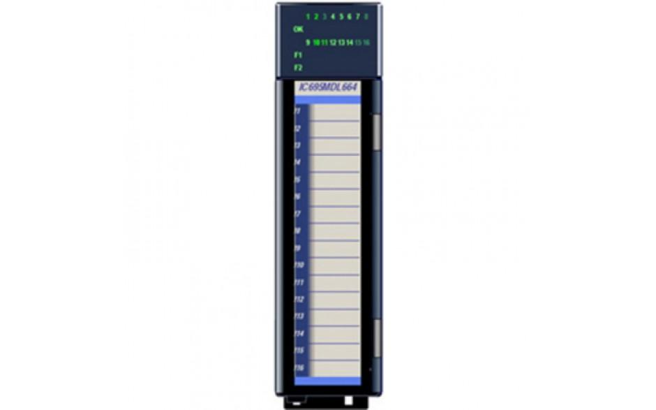 Wyprzedaż - RX3i - 16 wejść dyskretnych (24 VDC; logika dodatnia/ujemna) Moduł SMART; diagnostyka