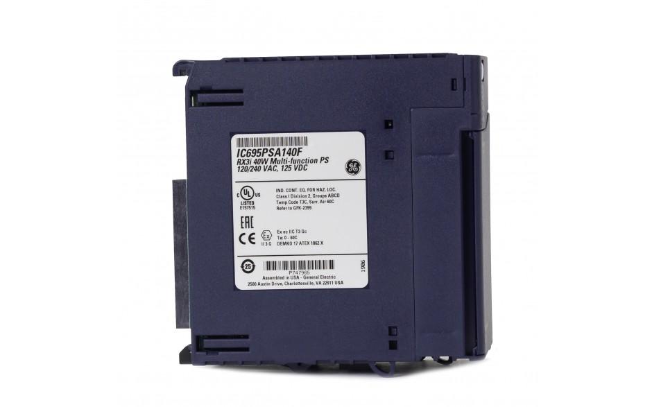 RX3i - Zasilacz do kasety bazowej RX3i 240 VAC; 40W - do układów rezerwacji zasilania 2