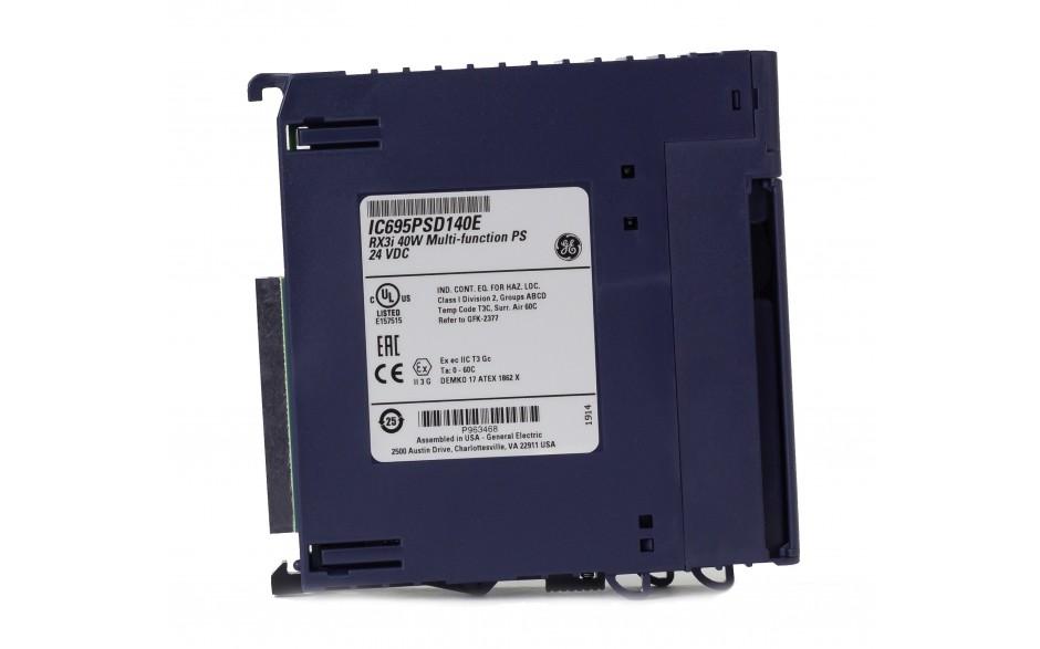 RX3i - Zasilacz do kasety bazowej RX3i 24 VDC; 40W - do układów rezerwacji zasilania 2