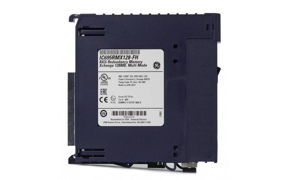 RX3i - Moduł do synchronizacji kontrolerów w układach redundancji (długość światłowodu do 300m) 2