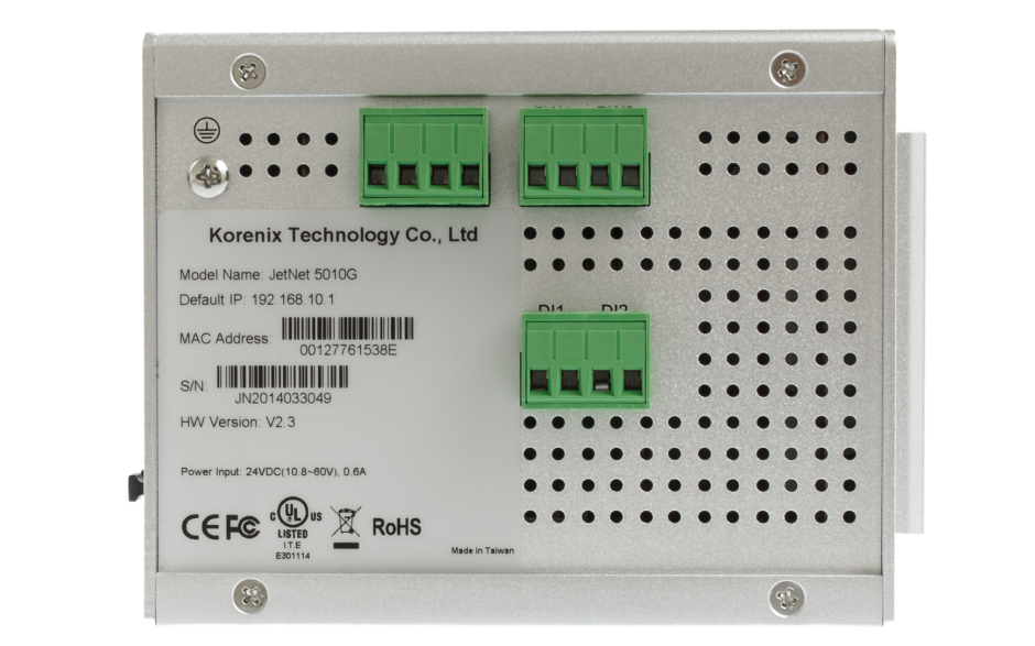 Switch zarządzalny przemysłowy, Ethernet - 10-portowy (7 x 10/100 Base-TX + 3 x RJ45/SFP - 100/1000 Base-X), RING, Modbus TCP, poszerzony zakres temperatur 2