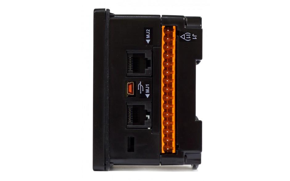 """Sterownik PLC z HMI EXLt - 3.5"""", Ethernet; 12 DI (24V; 4 HSC); 12 DO (24V; 2 PWM); 2 AI (0-10V; 0-20mA; 4-20mA) 2"""