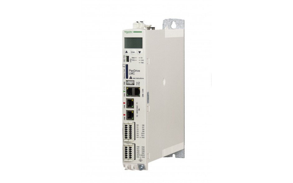 Kontroler serii Eco LMC100; 512MB RAM/FLASH; Intel Atom 1.6 GHz; zasilanie 24V; 8xDI; 4xTP; 8xDO