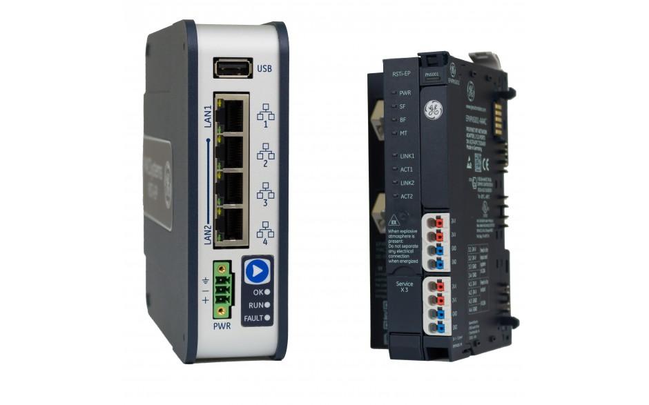 PROMOCJA - Sterownik PLC PACSystems CPE100 + interfejs komunikacyjny Profinet RSTi-EP + Proficy Machine Edition 9.5 Lite