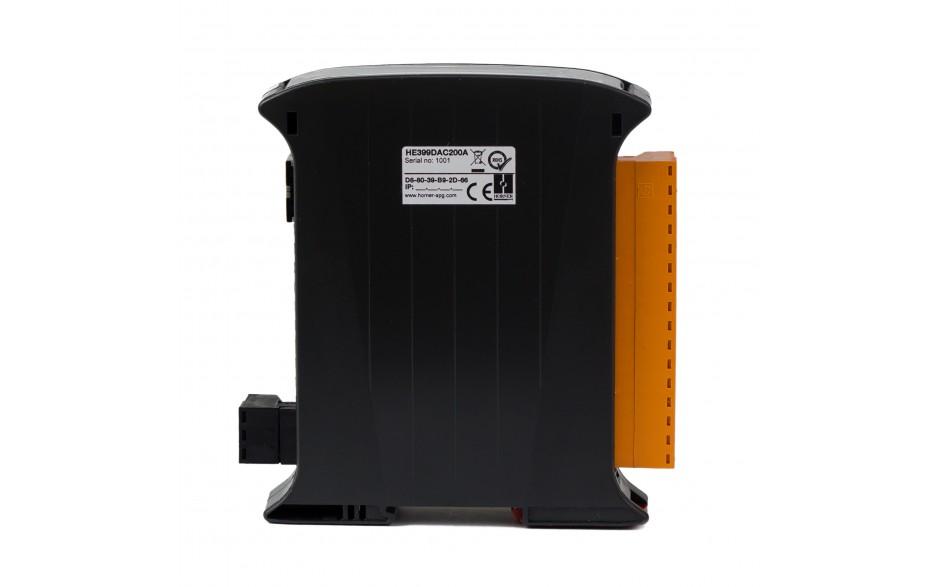 SmartMod PLUS I/O; 4 izolowane wyjścia analogowe (0-20 mA, 0-10 V); 16 bitów; Modbus TCP 2
