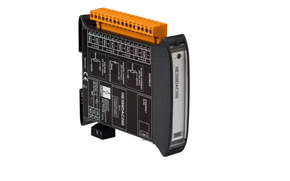 SmartMod PLUS I/O; 4 izolowane wyjścia analogowe (0-20 mA, 0-10 V); 16 bitów; Modbus TCP 5