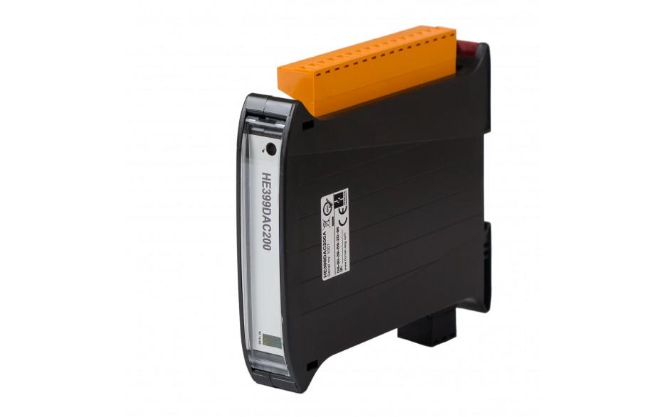 SmartMod PLUS I/O; 4 izolowane wyjścia analogowe (0-20 mA, 0-10 V); 16 bitów; Modbus TCP 4