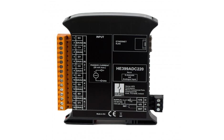 SmartMod PLUS I/O; 8 wejść analogowych (+/- 20 mA); 16 bitów; Modbus TCP 3