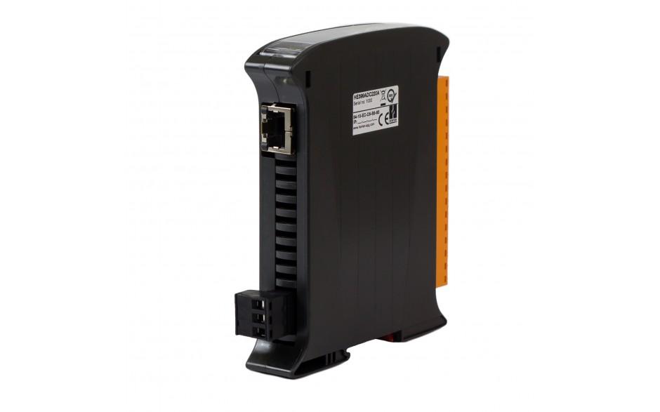 SmartMod PLUS I/O; 8 wejść analogowych (+/- 20 mA); 16 bitów; Modbus TCP 2