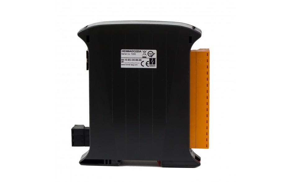 SmartMod PLUS I/O; 8 wejść analogowych (+/- 20 mA); 16 bitów; Modbus TCP 4