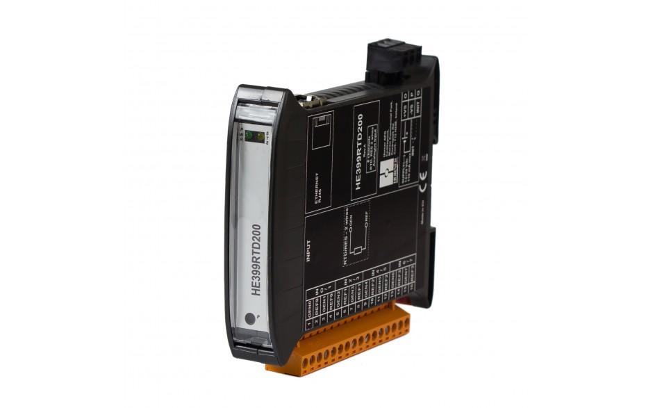 SmartMod PLUS I/O; 8 wejść RTD (Pt100, Pt1000, Ni100, Ni1000); rozdzielczość 16 bitów; Modbus TCP 5