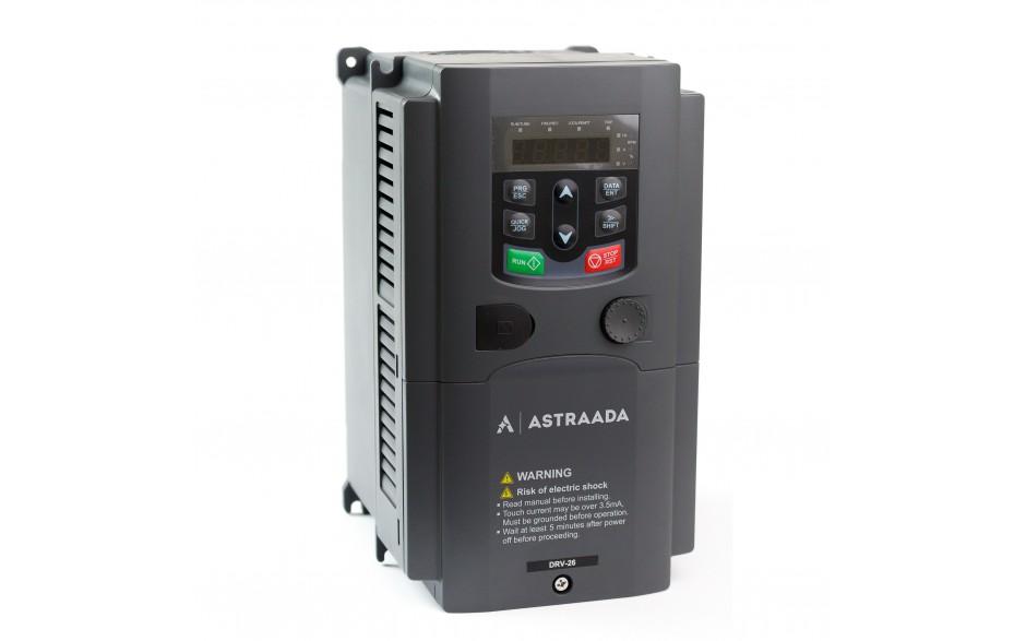 Falownik trójfazowy wektorowy 5.5 kW, filtr EMC, funkcje wentylatorowo-pompowe 2