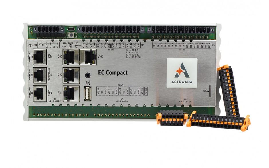 Astraada One ECC2200 - 16DI, 16DO, web server, RS232/485, CAN, Ethernet, EtherCAT, Ethernet, Modbus TCP/RTU 2