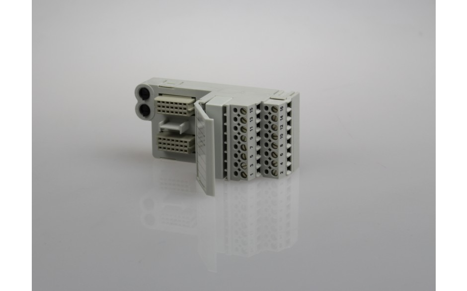 Wyprzedaż - PAC8000 IO - Interfejs przyłączeniowy; nisko energetyczny; wbudowane bezpieczniki; praca w strefie Div 2