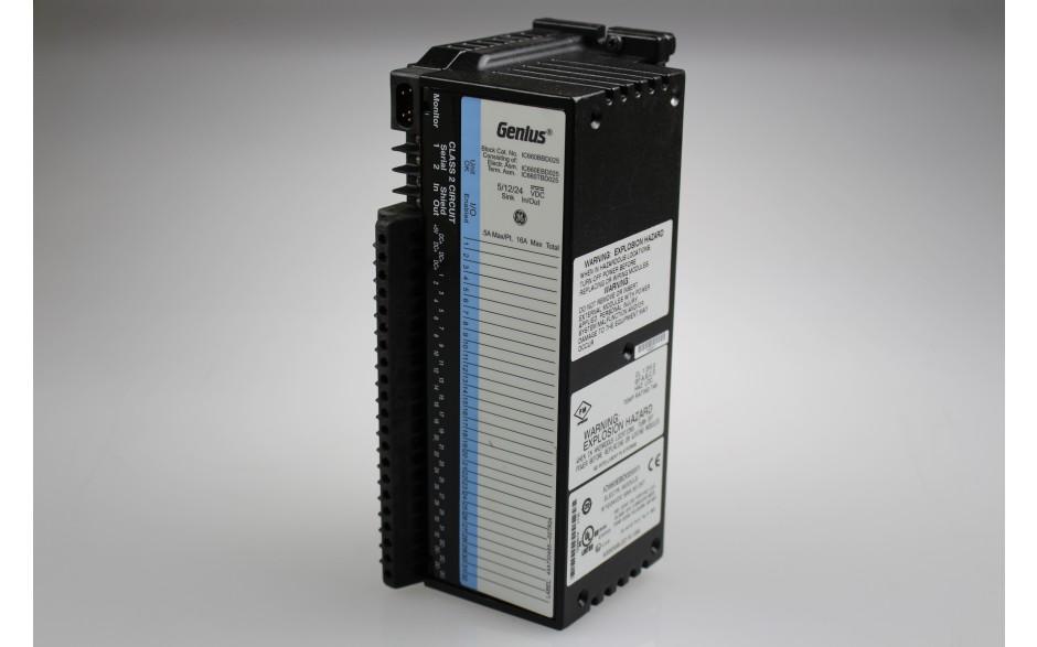 GeniusBlock - Moduł konfigurowalnych wejść/wyjść 5/12/24 VDC, 32-punktowy ze wspólną masą