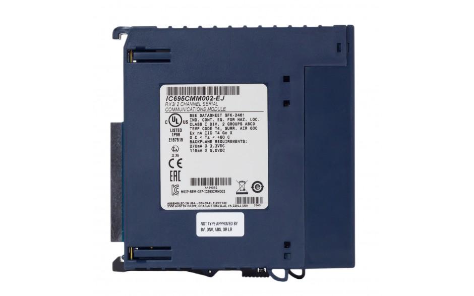 RX3i - Moduł komunikacyjny 2x RS232/422/485; izolowane porty; Modbus RTU Master/Slave; Serial I/O; DNP 3.0 4