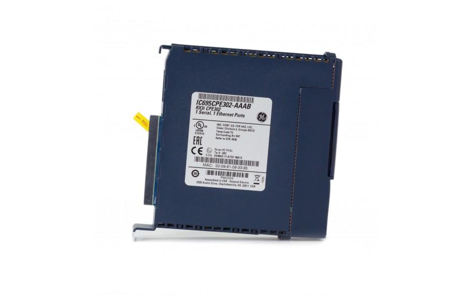 RX3i - CPU 2 MB RAM/FLASH; 1.1GHz; 1x Ethernet; 1x RS232; 1x USB; Energy PACK 4