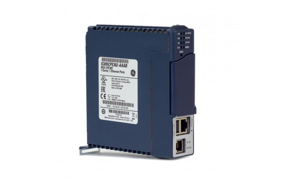 RX3i - CPU 2 MB RAM/FLASH; 1.1GHz; 1x Ethernet; 1x RS232; 1x USB; Energy PACK 5