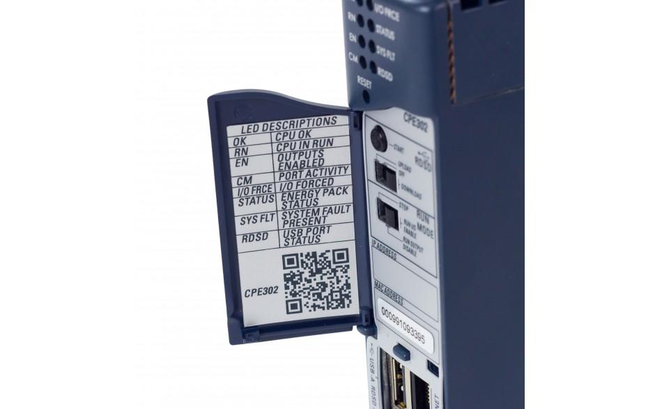 RX3i - CPU 2 MB RAM/FLASH; 1.1GHz; 1x Ethernet; 1x RS232; 1x USB; Energy PACK 11