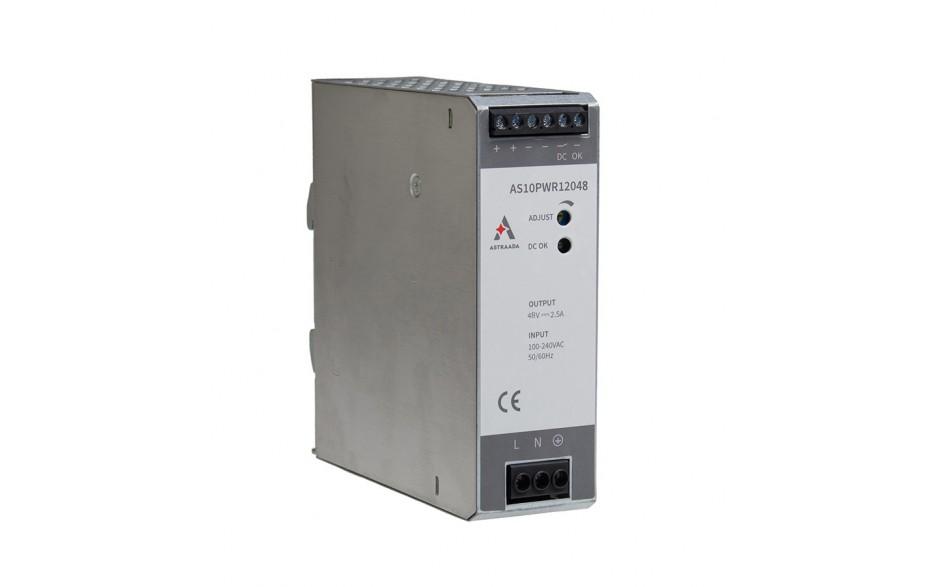 Wyprzedaż - Zasilacz impulsowy (100-240VAC / 48V/2.5A DC)