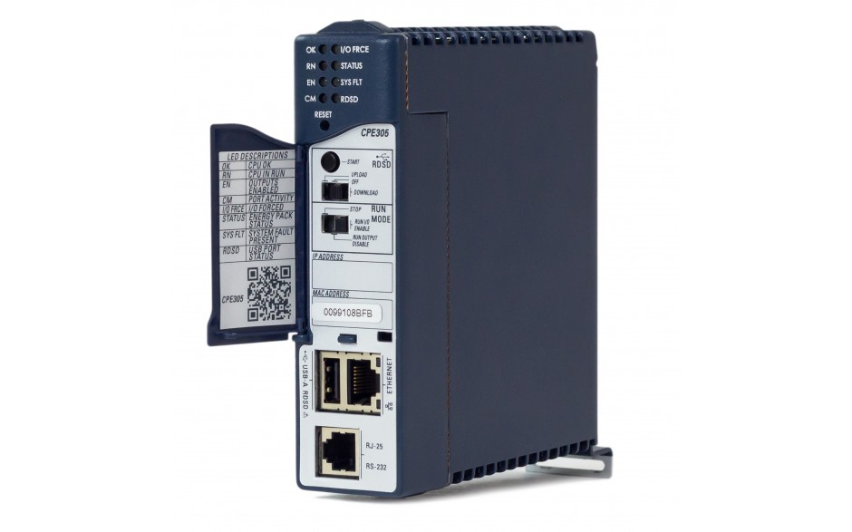 RX3i - CPU 5 MB RAM/FLASH; 1.1GHz; 1x Ethernet; 1x RS232; 1x USB; Energy PACK