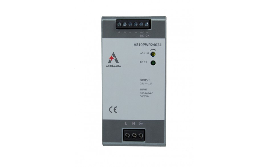 Zasilacz impulsowy (110-220VAC / 24V/10A DC) 3