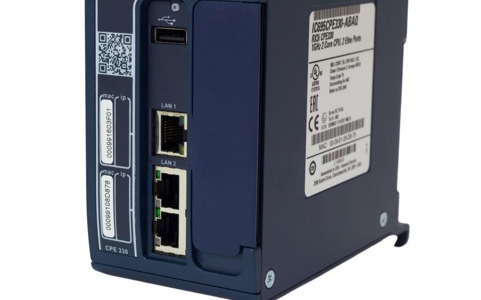RX3i - CPU 64 MB RAM/FLASH; 1 GHz Dual Core; 2x Ethernet Gb; 1x USB; 1x Cfast; Energy Pack 12