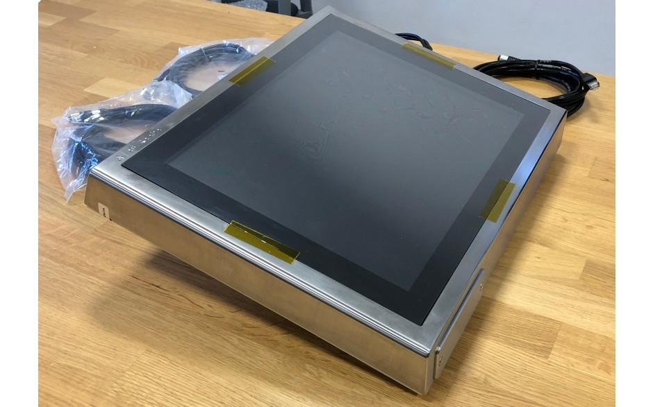 """Astraada HMI Panel PC 15"""" i3, 4GB RAM, HDD 320GB, Win 7, Obudowa ze stali nierdzewnej IP69K, ekran pojemnościowy"""