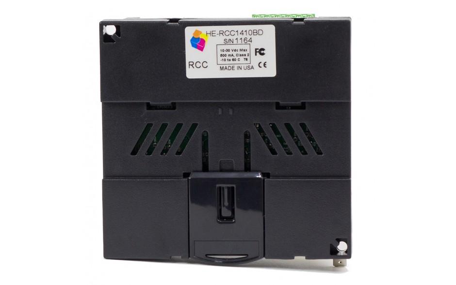 Sterownik PLC RCC1410; RS232, RS485, Ethernet, CsCAN, MicroSD;  14x DI, 10x DO 24 VDC; zasilanie 9-30 VDC 6