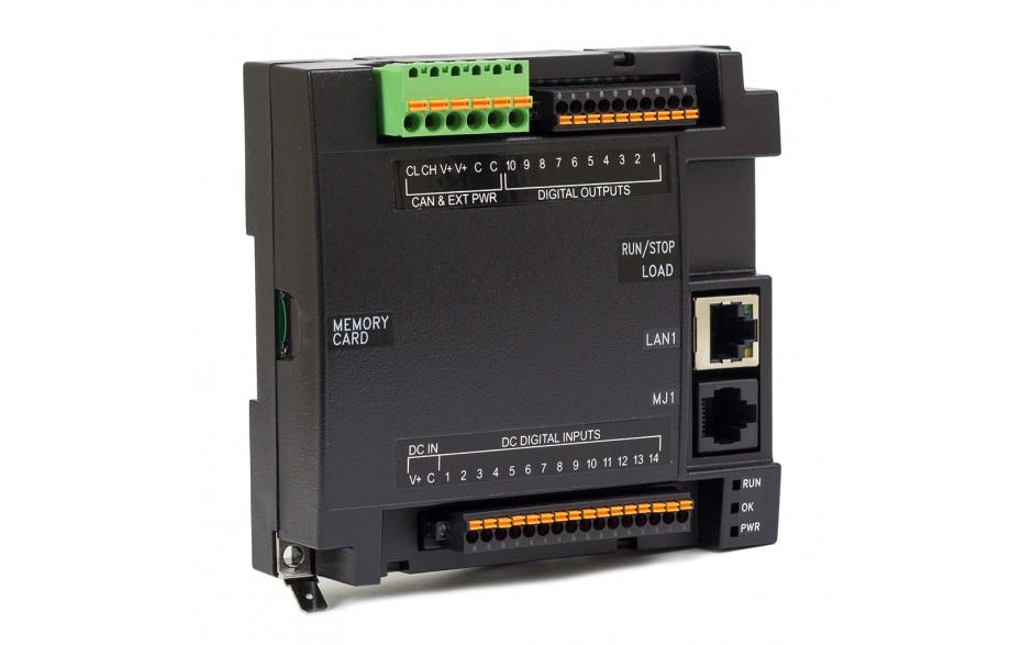 Sterownik PLC RCC1410; RS232, RS485, Ethernet, CsCAN, MicroSD;  14x DI, 10x DO 24 VDC; zasilanie 9-30 VDC 2