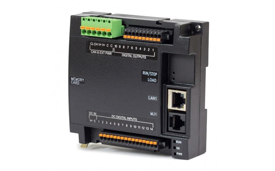 Zestaw startowy z e-szkoleniem - Sterownik PLC RCC1410; RS232, RS485, Ethernet, CsCAN, MicroSD;  14x DI 24 VDC, 10x DO 24 VDC; zasilanie 9-30 VDC 2
