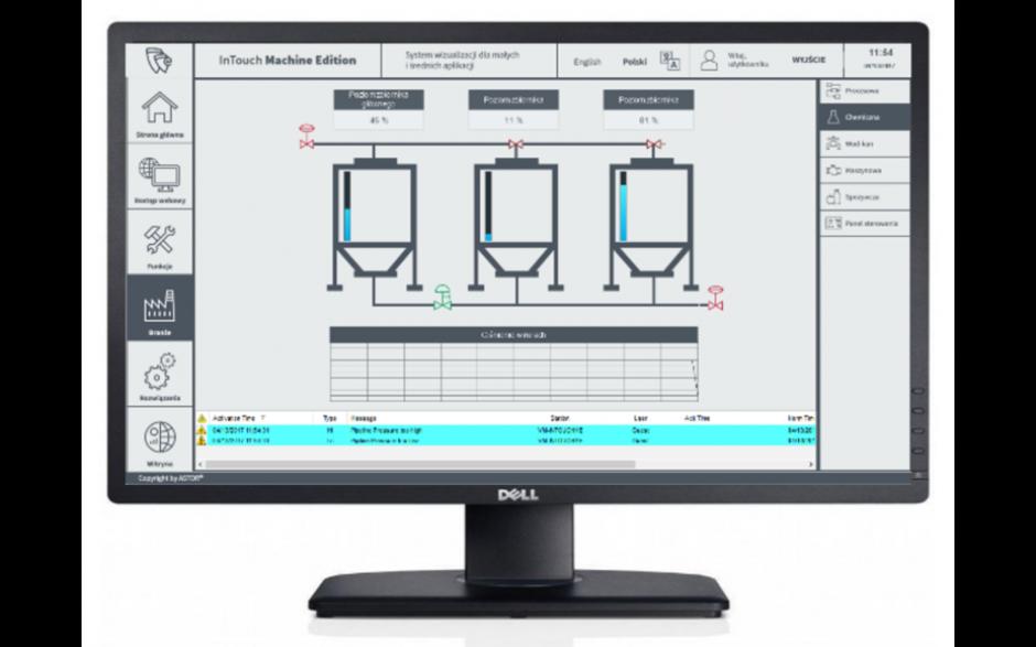 """E-szkolenie """"InTouch Edge HMI - podstawy tworzenia wizualiacji"""""""