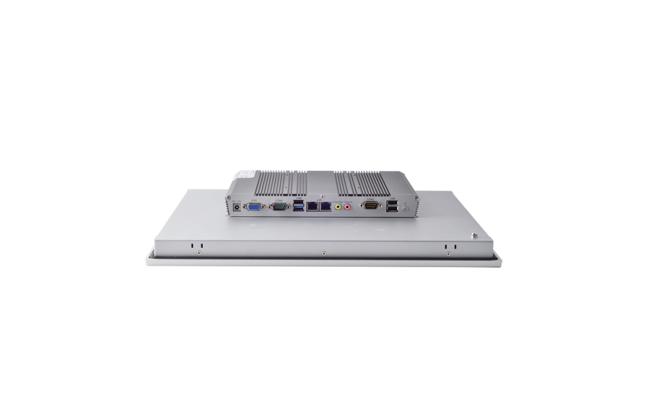 """Przemysłowy komputer panelowy 17"""", dotykowy pojemnościowy, 1280*1024, wersja STANDARD, Intel Celeron J1900, 4GB RAM, mSATA SSD 128 GB, WIN10-IOT Ent LTSB 2019 , 2x RS232, 4x USB, 2x Intel Gigalan, VGA, zasilanie 12 VDC z zasilaczem 3"""