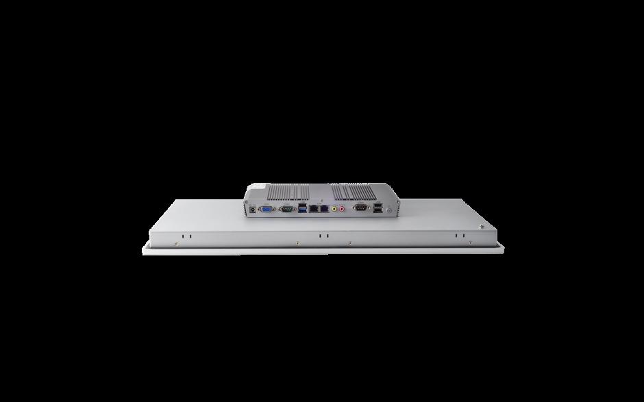 """Przemysłowy komputer panelowy 21,5"""", dotykowy pojemnościowy, 1920*1080, wersja STANDARD, Intel Celeron J1900, 4GB RAM, mSATA SSD 128 GB, WIN10-IOT Ent LTSB 2019 , 2x RS232, 4x USB, 2x Intel Gigalan, VGA, zasilanie 12 VDC z zasilaczem 3"""
