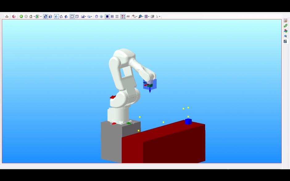 """E-szkolenie """"Projektowanie i symulacja zrobotyzowanych stanowisk pracy w oprogramowaniu K-Roset"""""""